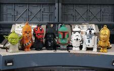 Star Wars Figure Cake Topper Decoration Yoda Rebel vs Vader Empire Set 8