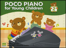 Poco Piano for Young Children Book 2 with Stickers Learn to Play Kids Method