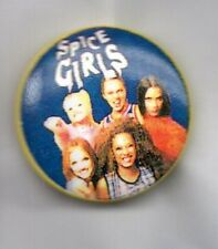 THE SPICE GIRLS  BUTTON BADGE 90s GIRL POP BAND WANNABE POSH, SPORTY, SCARY 25mm