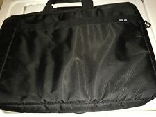 ASUS 15.6 Inch Black Vinyl Laptop Notebook Bag With Handle/Shoulder Strap