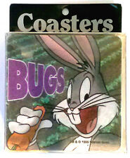 1995 Collectable Looney Tune Coasters BUGS BUNNY  New 4 pack
