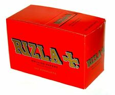 New Genuine Rizla Red Rolling Regular Standard Paper Full Box Of 100 Booklets UK