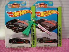 vhtf 2015 Hot Wheels SUPER Treasure Hunt FERRARI 599XX & Reg lot #188☆Black;Gray