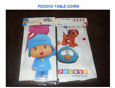 POCOYO Plastic Table Cover for Birthday Parties Pocoyo Party Supplies