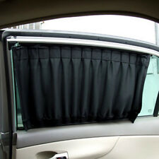 2X Adjustable Car Window Mesh Unique Interlock Curtain Auto Sunshade Visor UC913