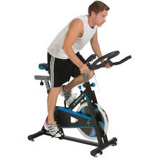 Exerpeutic LX7 Indoor Cycling Exercise Bike with Computer and Heart Pulse Senso