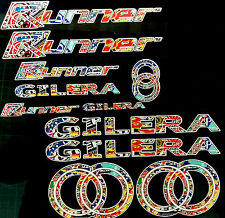 Gilera Runner Decals Stickers EXCLUSIVE StickerBomb sp vx fx vxr fxr st  (White)