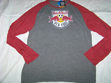 Adidas Originals Men's New York Red Bull Long Sleeve Shirt NWT 2XL