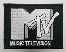 MTV MUSIC TELEVISION - Classic Company Logo Patch - MIX 'N' MATCH - #5E06