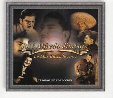 Jose Alfredo Jimenez Lo Mas Buscados parte 2 Tesoros de Coleccion 3CD New Nuevo