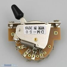 NEW - DM-50 5-way Pickup Switch for Japan Import Fender® Ibanez® Guitar Bass MIJ