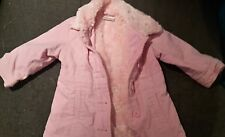 NEXT Pink Faux Fur Coat 12-18 Months Fluffy/Warm/Jacket/Baby/Girl's/Toddler/NEW