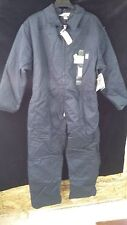 Work King Coverall Overalls Insulated/Lined Zip Down Front Navy Blue Men Sz 2Xl
