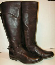 Frye Phillip Tall Leather Riding Boot Size 9  Brown