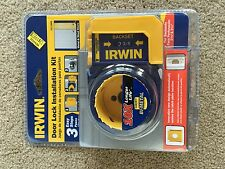 Irwin Industrial Tools 3111005 Carbon Door Lock Installation Kit