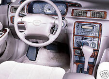 1997 1998 1999 2000 2001 TOYOTA CAMRY CE LE XLE INTERIOR BURL WOOD DASH TRIM KIT