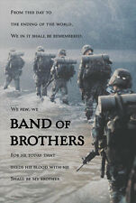 U.S. Army Infantry BAND OF BROTHERS Inspirational Military WALL POSTER