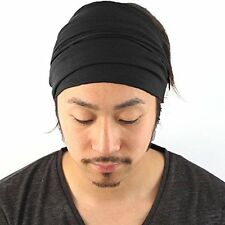 Casualbox mens Elastic Bandana Headband Japanese Long Hair Dreads Head wrap New