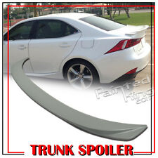 PAINTED FOR LEXUS IS250 IS350 IS300h F-SPORT F TYPE REAR TRUNK WING SPOILER ABS