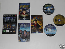 HARRY POTTER COLLECTION for PLAYSTATION 2 'VERY RARE & HARD TO FIND'