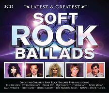 SOFT ROCK BALLADS-LATEST&GREATEST 3CD NEU BONNIE TYLER/SIMPLE MINDS/THIN LIZZY/