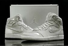 Nike Air Jordan 1 Retro Dunk HI SILVER 25th Anniversary Suit Case Limited Sz10.5