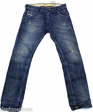 BRAND NEW DIESEL KROOLEY 0801N JEANS 30X32 801N REGULAR SLIM FIT