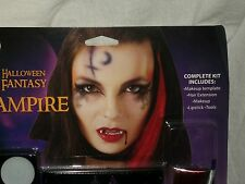 Halloween Fantasy Vampire Latex Dripping Blood Costume Makeup Theater Stage