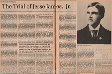 Trial of Jessie james Jr.+Anderson,Bell,Crittenden,Edwards,Henry,Hill,Redmond,