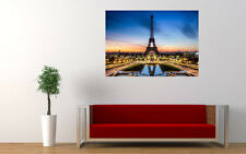 EIFFEL TOWER PARIS NEW GIANT LARGE ART PRINT POSTER PICTURE WALL
