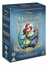 The Little Mermaid Collection [DVD] [1989] New UNSEALED MINOR BOX WEAR