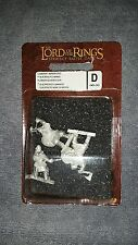 Games Workshop: Lord of the Rings Blister - Dwarf Warriors GW LOTR New Metal 159