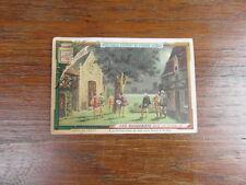(PC) 1 x CHROMO TRADE CARDS LIEBIG S 279 LES HUGUENOTS MEYERBEER  (FR)
