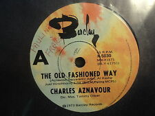 "Charles Aznavour ""The Old Fashioned Way"" Great Oz 7"""