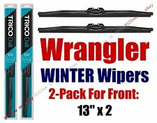 1997-2006 Jeep Wrangler WINTER Wipers 2-pk Snow Ice Cold Winter Blades - 37131x2