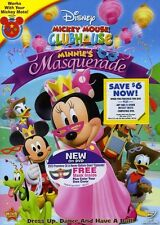 Mickey Mouse Clubhouse: Minnie's Masquerade (2011, REGION 1 DVD New)