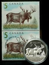 2004 Canada $5 Coin & Stamp Set 'The Majestic Moose'