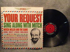 33 RPM LP Record Mitch Miller Your Request Sing Along With Mitch Columbia CS8471