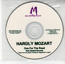 (DS925) Hardly Mozart, One For The Road - DJ CD