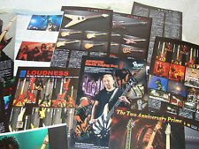 Loudness Akira Takasaki Rare Collection Clippings 42 pages Killer ESP Gear Detai