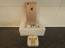 New Apple iPhone 5s CUSTOMiSED to ROSE GOLD iPhone 6s mini -EE,ASDA,ORANGE 32GB