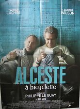 Affiche ALCESTE A BICYCLETTE. 120x160 cms. Lambert Wilson, Fabrice LUCHINI
