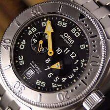 Authentic Oris Diver Big Crown Ref.7502 Regualtor Automatic Mens Wrist Watch