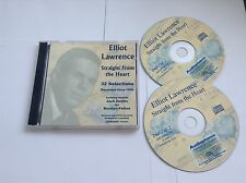 ELLIOT LAWRENCE STRAIGHT FROM THE HEART 2 CD SET
