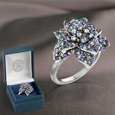 Midnight Rose Woman Ring Size 7 - Jewellery   Bradford Exchange
