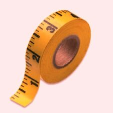 "Adhesive Back Tape Measure For Sewing Machine Table - 20 X 36"" Tapes Rulers"