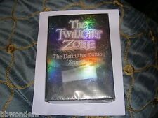 OOP TWILIGHT ZONE DEFINITIVE EDITION SEASON 1 6 DISC BOXSET 2005