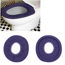 1pc Washable Cloth O-Shaped Warm Toilet Seat Cover Mat Pad For Bathroom BE