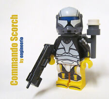 LEGO custom -- Scorch -- star wars mini figure commando clone trooper ARC