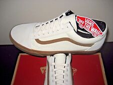 Vans Mens Old Skool Gum Sidestripe White Skate Shoes size 11 VN0003Z6I0Z  NWT